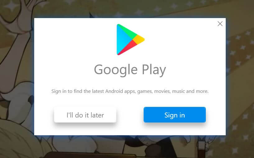 sign in with google id