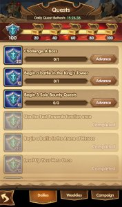 Dailies - Daly Quests