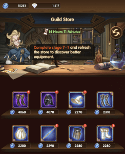 guild store afk arena