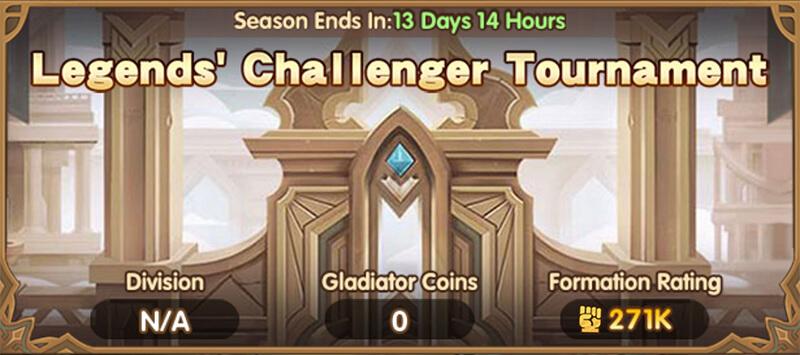 Legends' Challenger Tournament AFK Arena