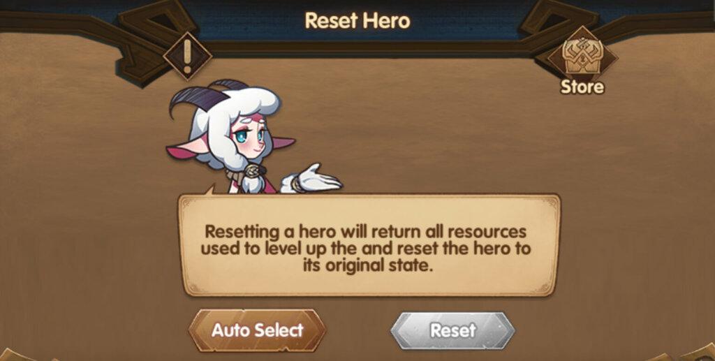 reset hero