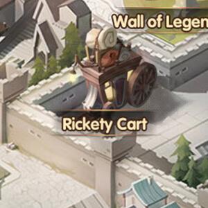 rickety cart afk arena