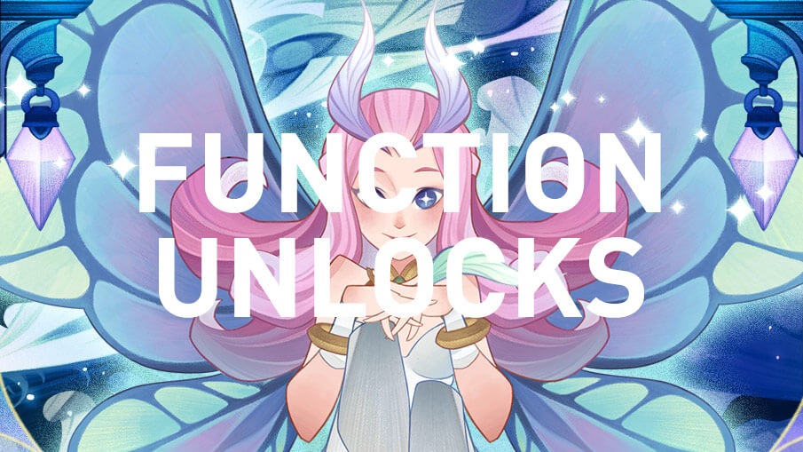function unlocks afk arena