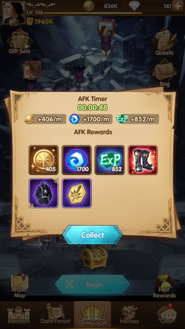 Easiest Way to Get Mythic Gears AFK Arena