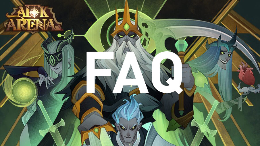 Frequently Asked Questions AFK Arena