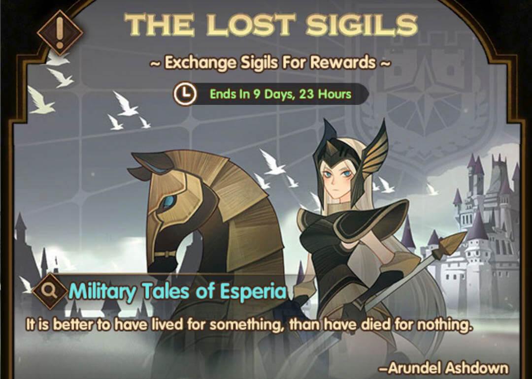The Lost Sigils