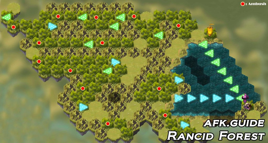 rancid forest map afk arena