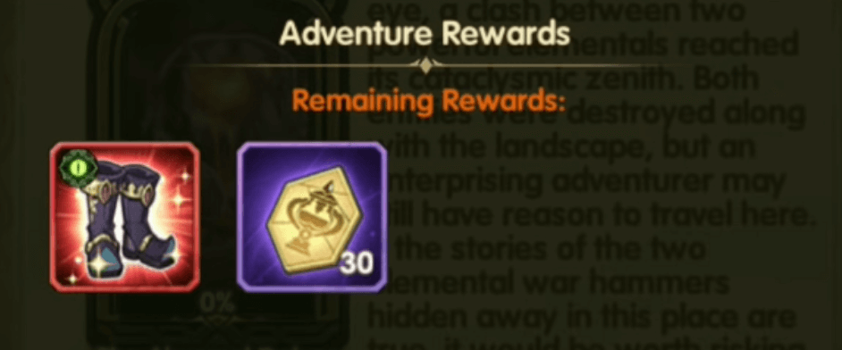 the abysmal delves rewards
