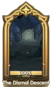 the dismal descent banner