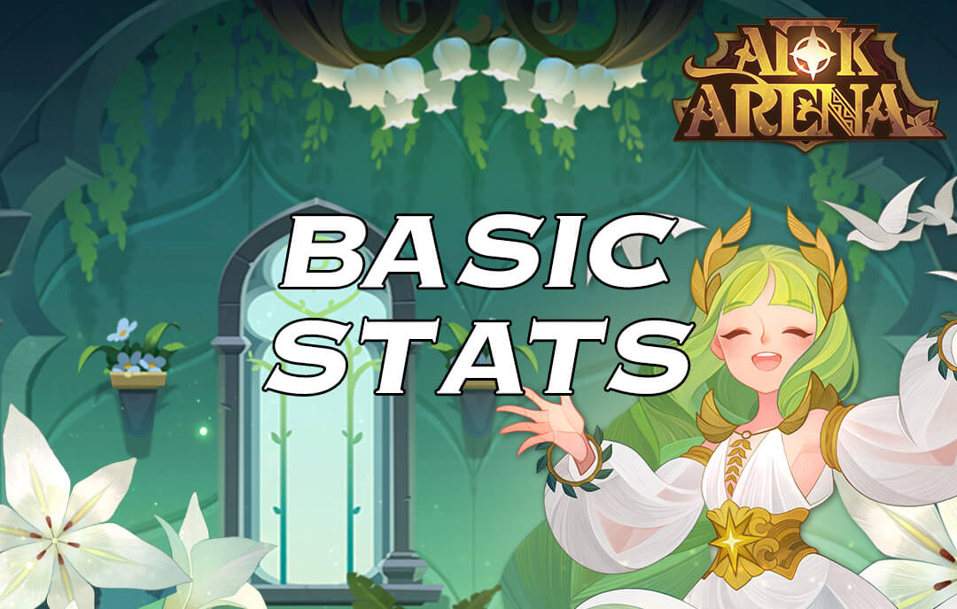 afk arena basic stats